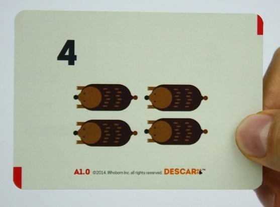대카르,수학카드